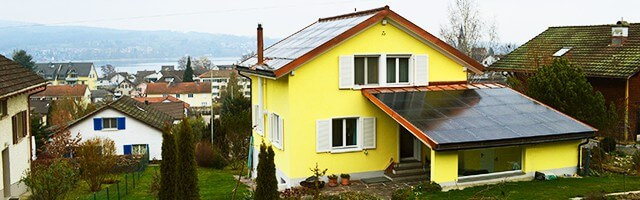 energeticky úsporný rodinný dům Loxone
