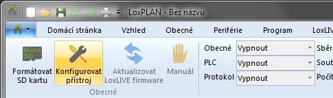 Změna IP adresy Miniserveru