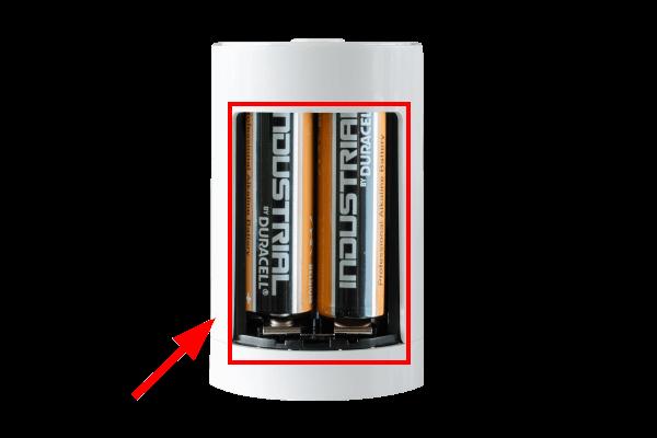 hlavice air výměna baterií