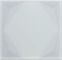 Chytré skleněné tlačítko Loxone Touch Pure