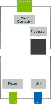 loxone rs485 extension schéma a popis konektorů
