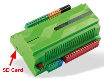 Miniserver slot pro SD kartu
