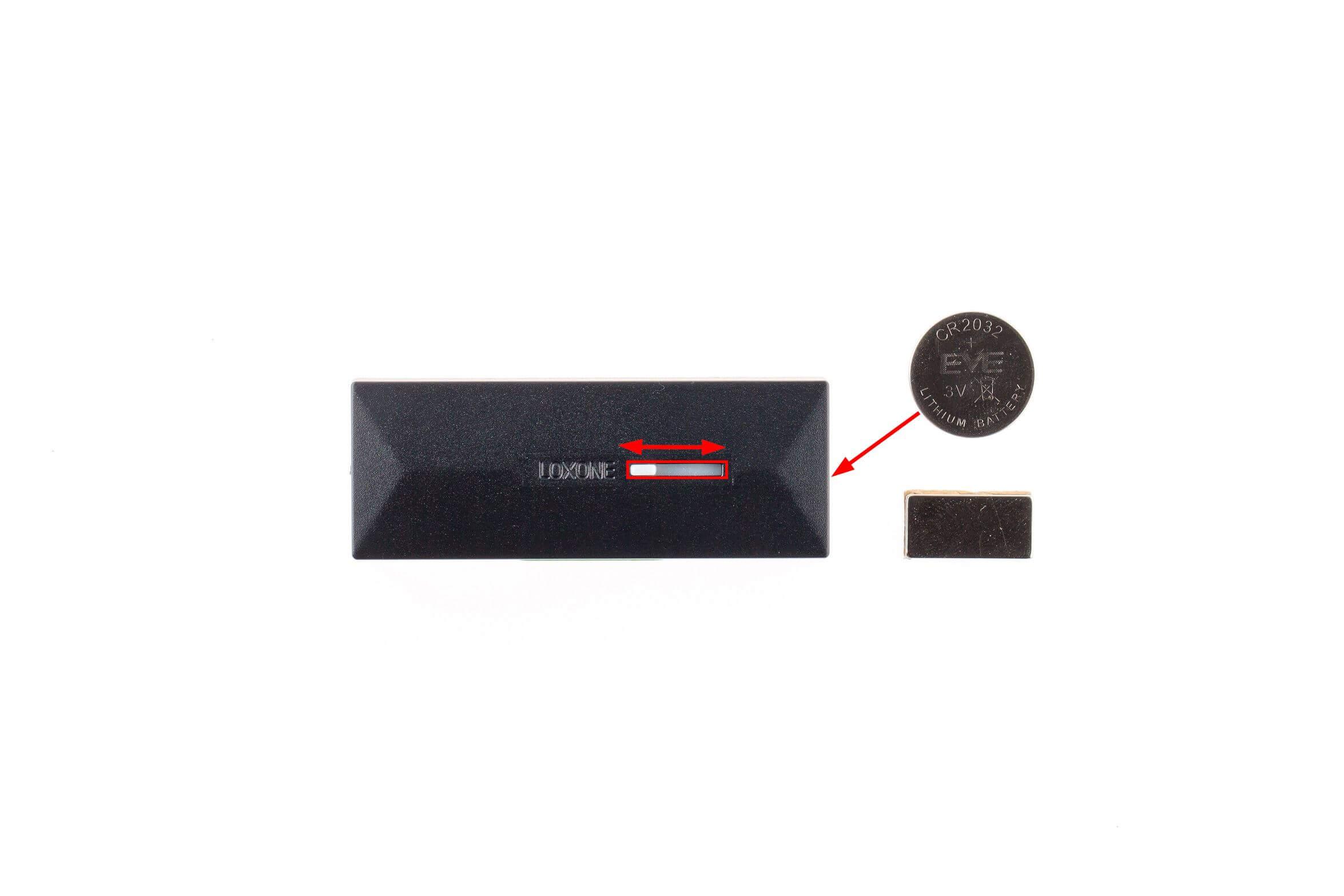okenní a dveřní kontakt air výměna baterií