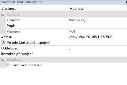 Komunikace UDP zadani adresy