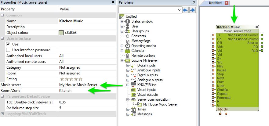 music server config 2