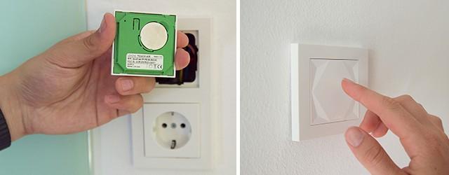 inteligentní dům: bezdrátové tlačítko Loxone