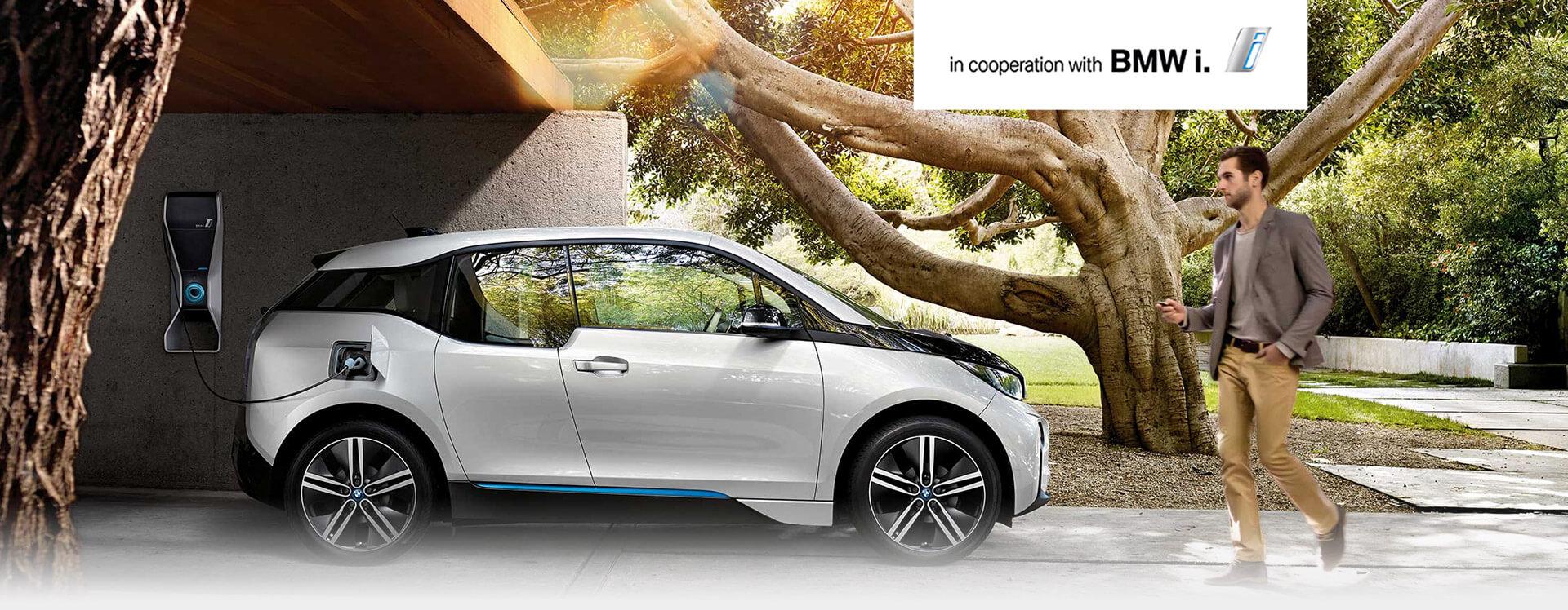 spolupráce s elektromobily bmw i