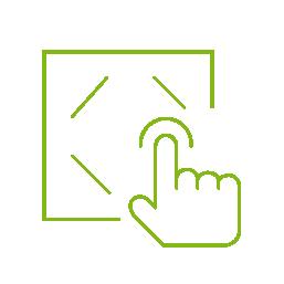 Loxone Touch při vypnutí místnosti nebo zastřežení domu