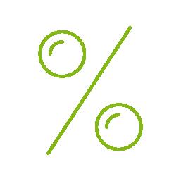 Zvýhodněná cena za vybavení sleva 50%