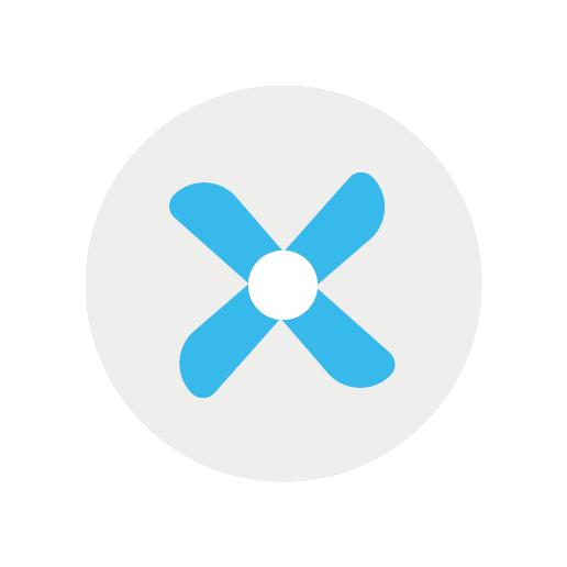 ikona ventilátor