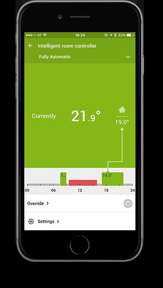Smart Home App - vytápění
