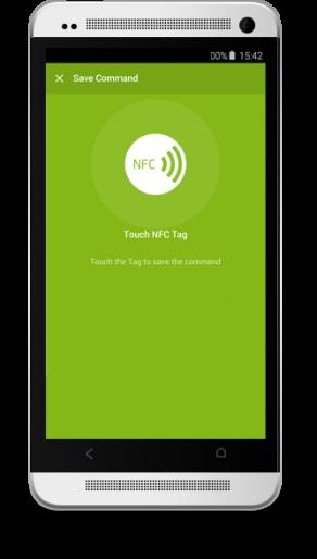 Aplikace Loxone NFC