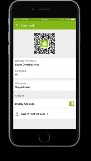 Smart Home App - QR