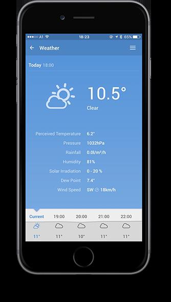 Smart Home App - Počasí