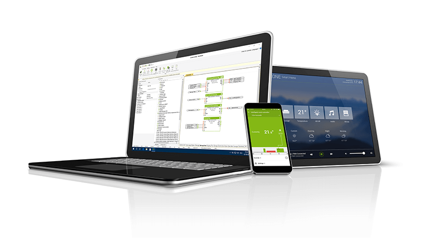 Ukázka softwaru Loxone pro smart home