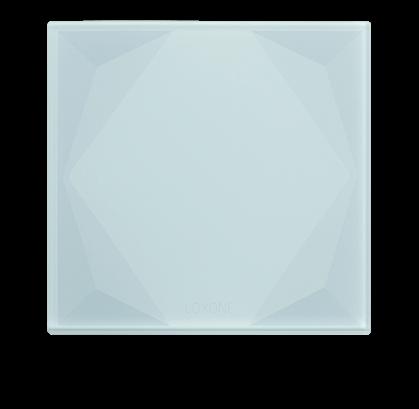 Loxone touch Pure bílý - tlačítkový standard