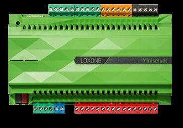 Loxone Miniserver v klasickém provedení do rozvaděče