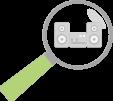hledání audio zařízení