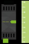 Rozměry RGBW 24V Dimmer