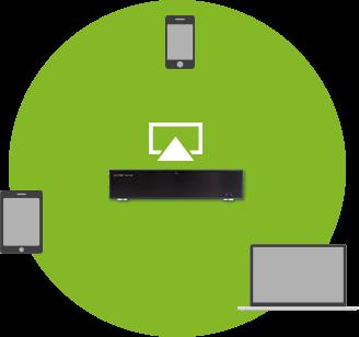 AirPlay streamování hudby na Loxone Music Server