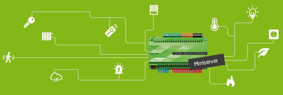 S jakými komponentami komunikuje Miniserver