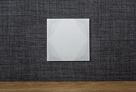 skleněné tlačítko pro chytré domy Loxone Touch Pure
