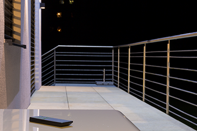 Remote Air na terase