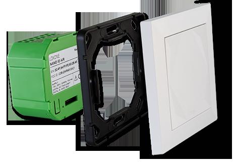 Připojení Nano Dimmer Air a tlačítka Loxone Touch for Nano