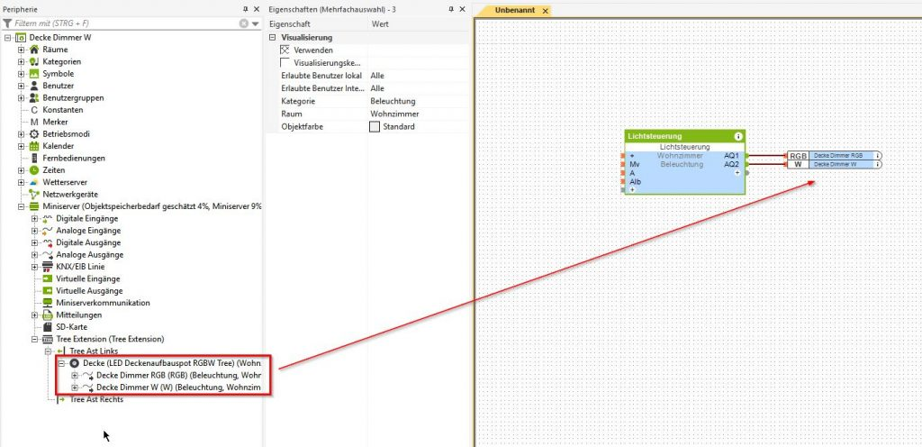 Inbetriebnahme-Aufbau-LED-Spot-RGBW-Tree_4-1024x496