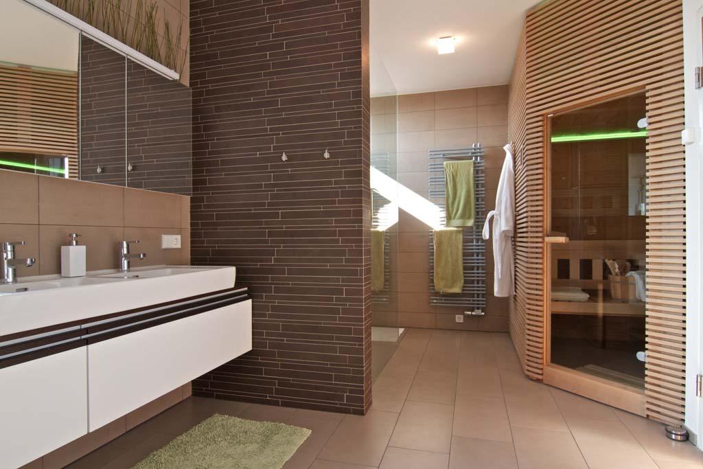 sauna v chytrém domě