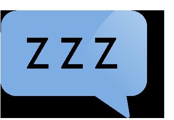 ikona spacího režimu