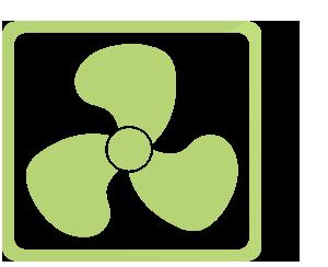 ikona větráku