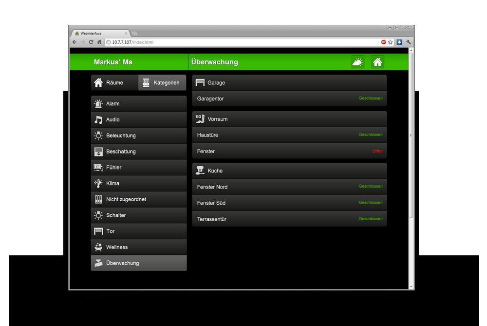 online aplikace v prohlížeči