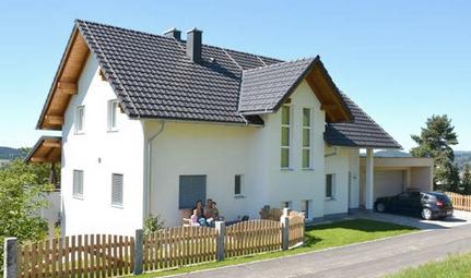 Loxone referenční projekt Panoramahaus