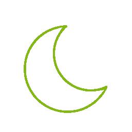 ikona měsíc