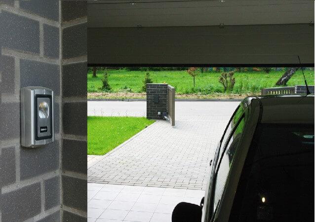 zabezpečení garáže