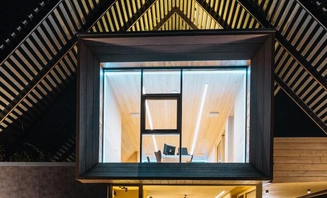 inteligentní osvětlení v pasivním domě se systémem Loxone