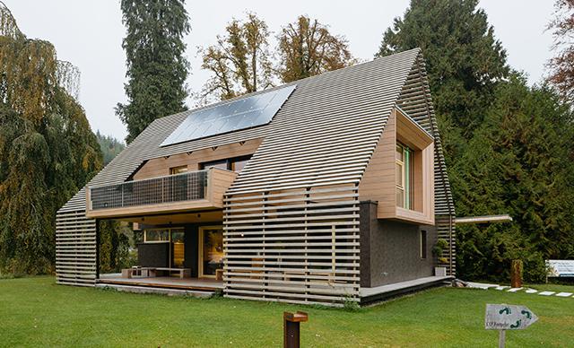 Referenční projekt Loxone Passive House
