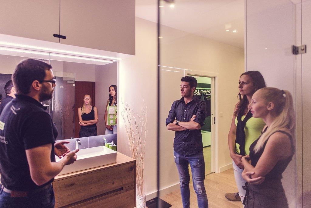 Smart home showrrom