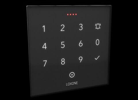 NFC Code Touch a svítící diody