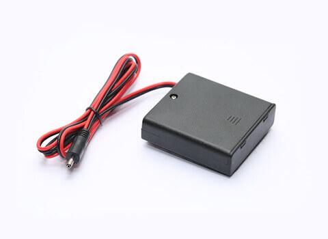 Foto držáku baterií na 4 × AA baterie