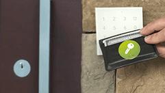 Šifrované NFC Tagy na peněžence
