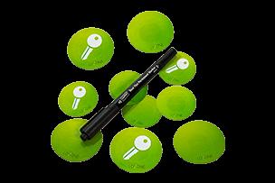 Šifrované NFC Smart Tagy s popisovačem