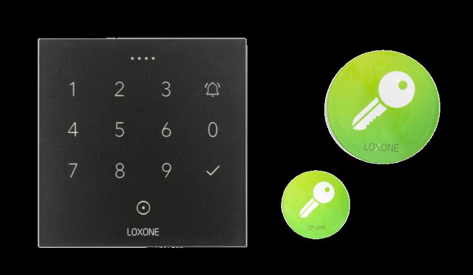 NFC Code Touch s Šifrovanými NFC Smart Tagy