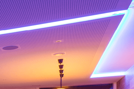 LED pásky v podhledech
