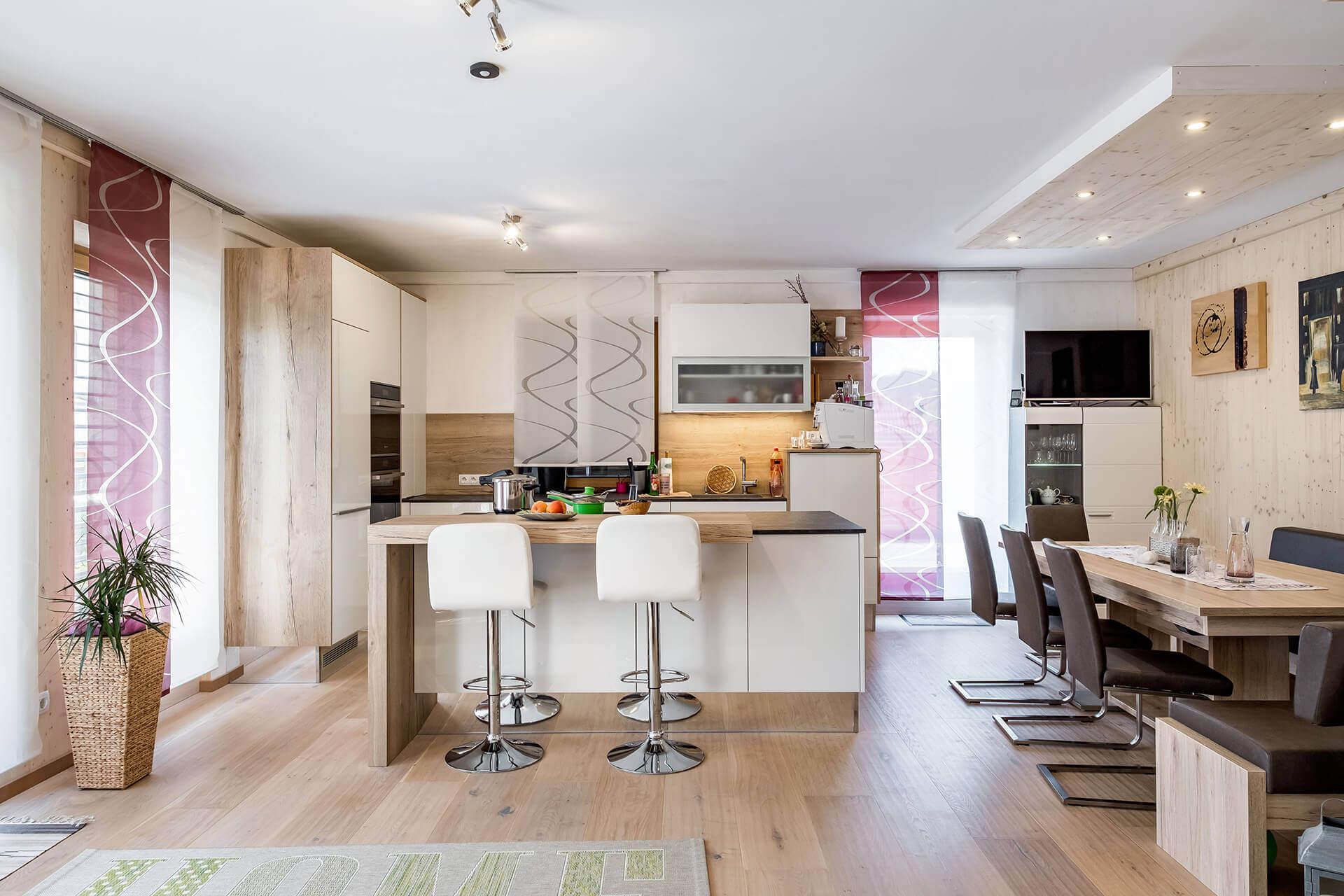 Kuchyně v inteligentním bytě