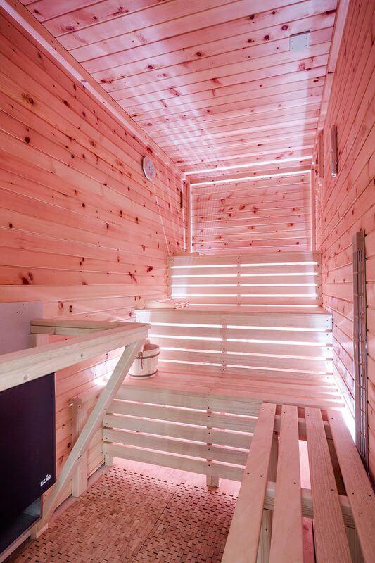 Osvětlení sauny ukázka 2
