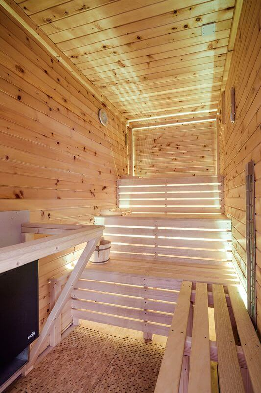 Osvětlení sauny ukázka 3