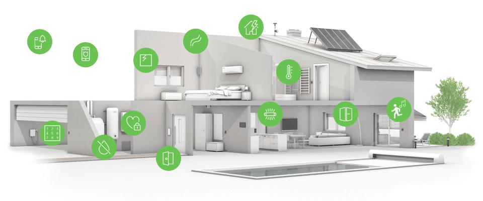 infografika ochrana chytrého domu