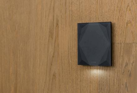 Skleněné tlačítko Touch Pure Anthracite
